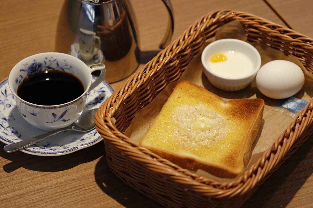 アーモンドトーストセット