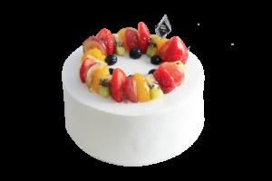 バースデーケーキ フルーツケーキ